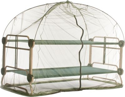 Disc-O-Bed Mosquito Net and Frame Green - Disc-O-Bed Outdoor Accessories