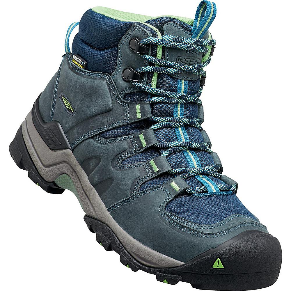 KEEN Womens Gypsum II Mid Waterproof Boot 9.5 - Midnight Navy/Opaline - KEEN Womens Footwear - Apparel & Footwear, Women's Footwear