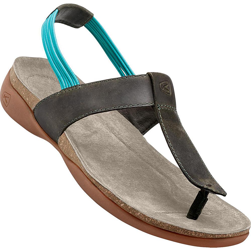KEEN Womens Dauntless Posted Sandal 5.5 - Burnt Olive - KEEN Womens Footwear - Apparel & Footwear, Women's Footwear