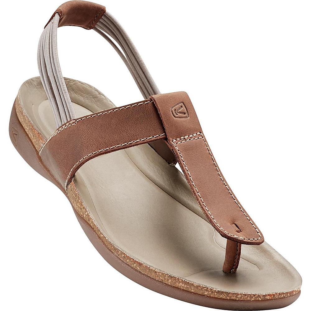 KEEN Womens Dauntless Posted Sandal 7 - Semolina - KEEN Womens Footwear - Apparel & Footwear, Women's Footwear