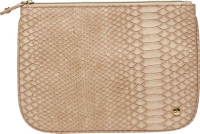 Stephanie Johnson Stephanie Johnson Everglades Large Flat Pouch Tan - Stephanie Johnson Travel Comfort and Health