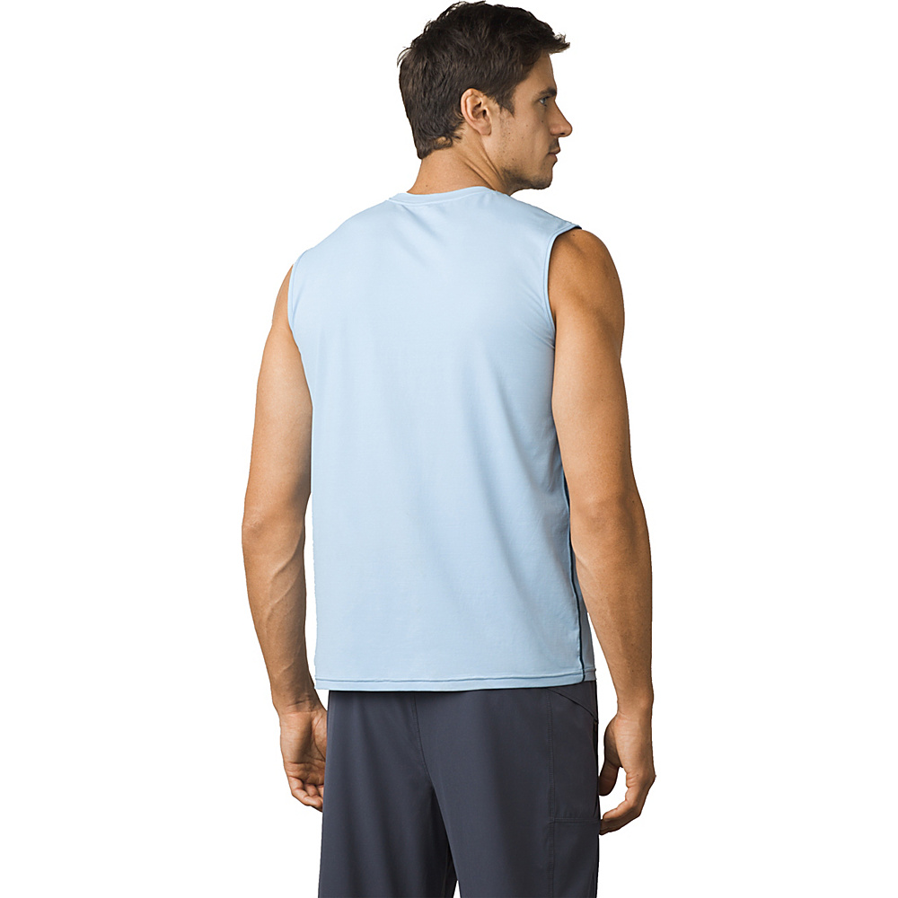 PrAna Calder Sleeveless Sun Top L - Blue Marble - PrAna Mens Apparel - Apparel & Footwear, Men's Apparel