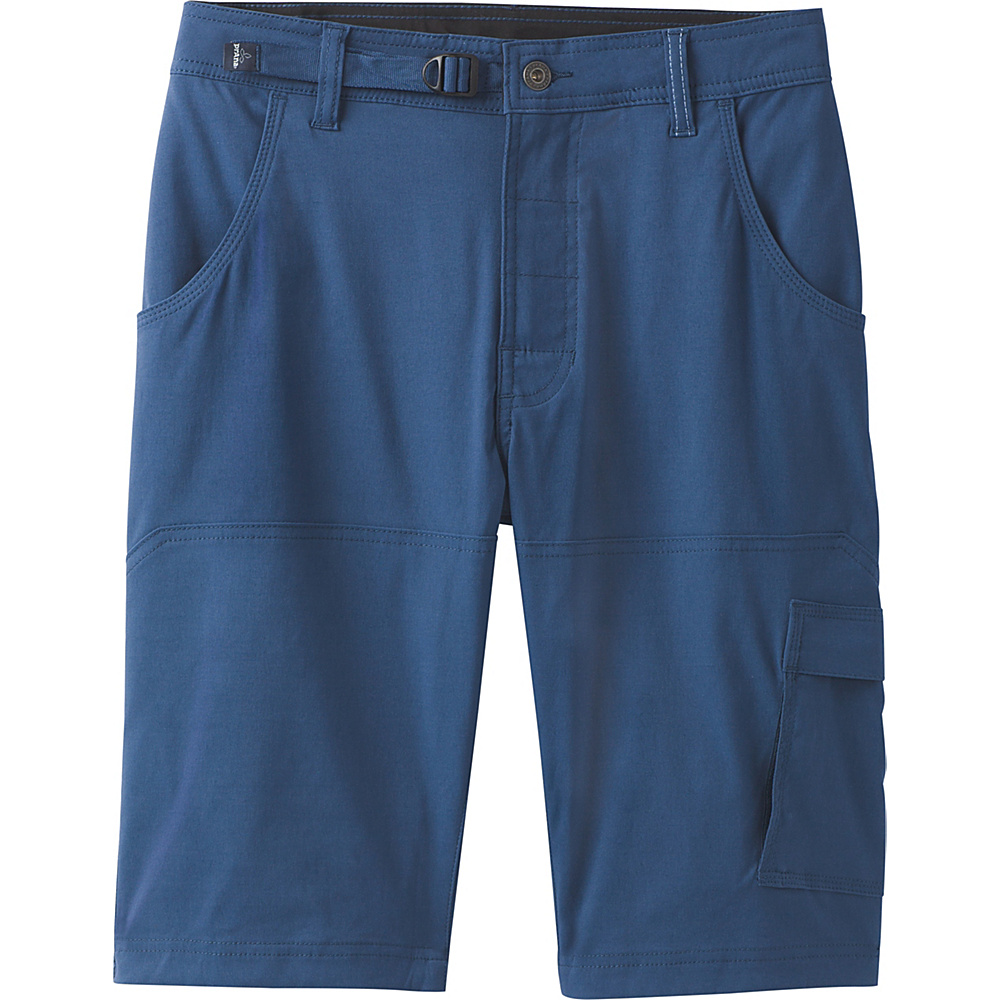 PrAna Stretch Zion Short - 10 Inseam 32 - Equinox Blue - PrAna Mens Apparel - Apparel & Footwear, Men's Apparel