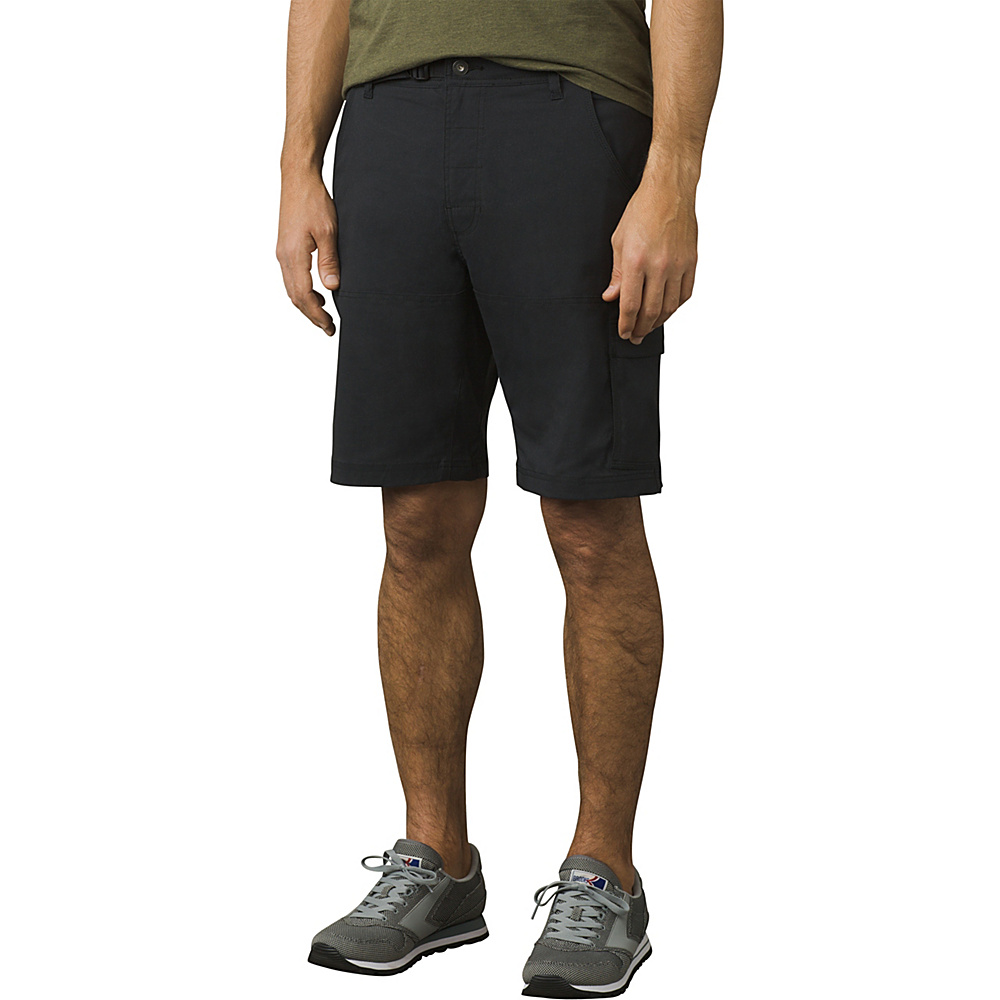 PrAna Stretch Zion Short - 10 Inseam 38 - 10in - Black - PrAna Mens Apparel - Apparel & Footwear, Men's Apparel