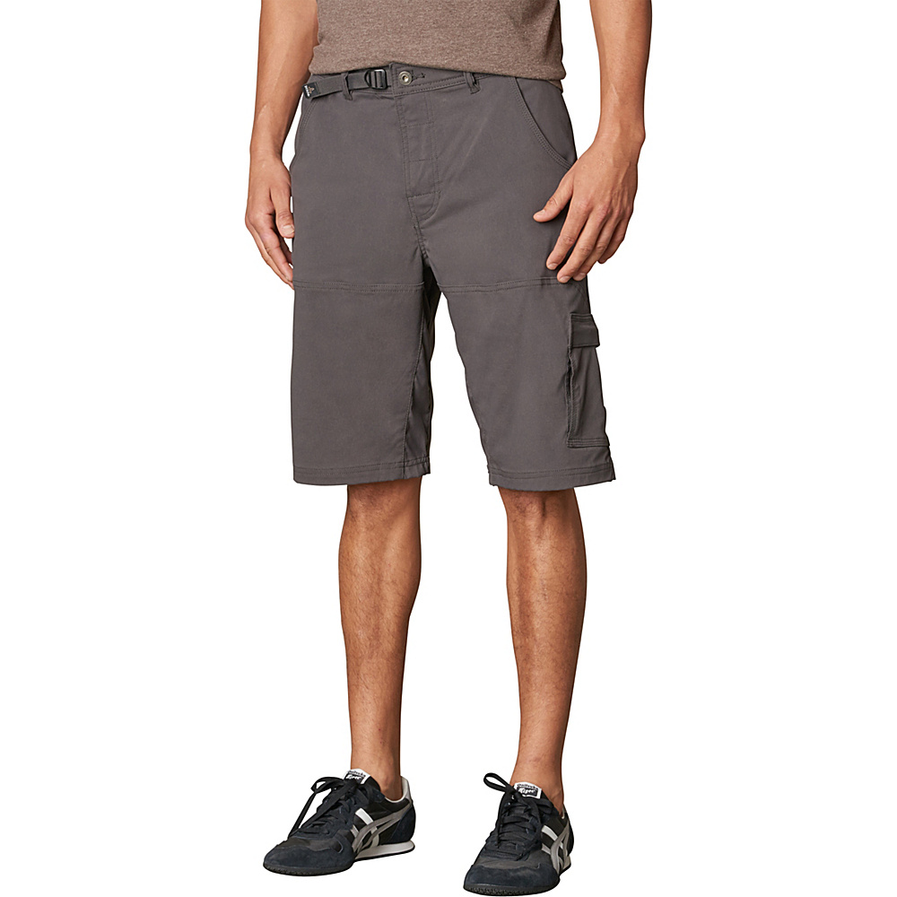 PrAna Stretch Zion Short - 10 Inseam 28 - 10in - Charcoal - PrAna Mens Apparel - Apparel & Footwear, Men's Apparel
