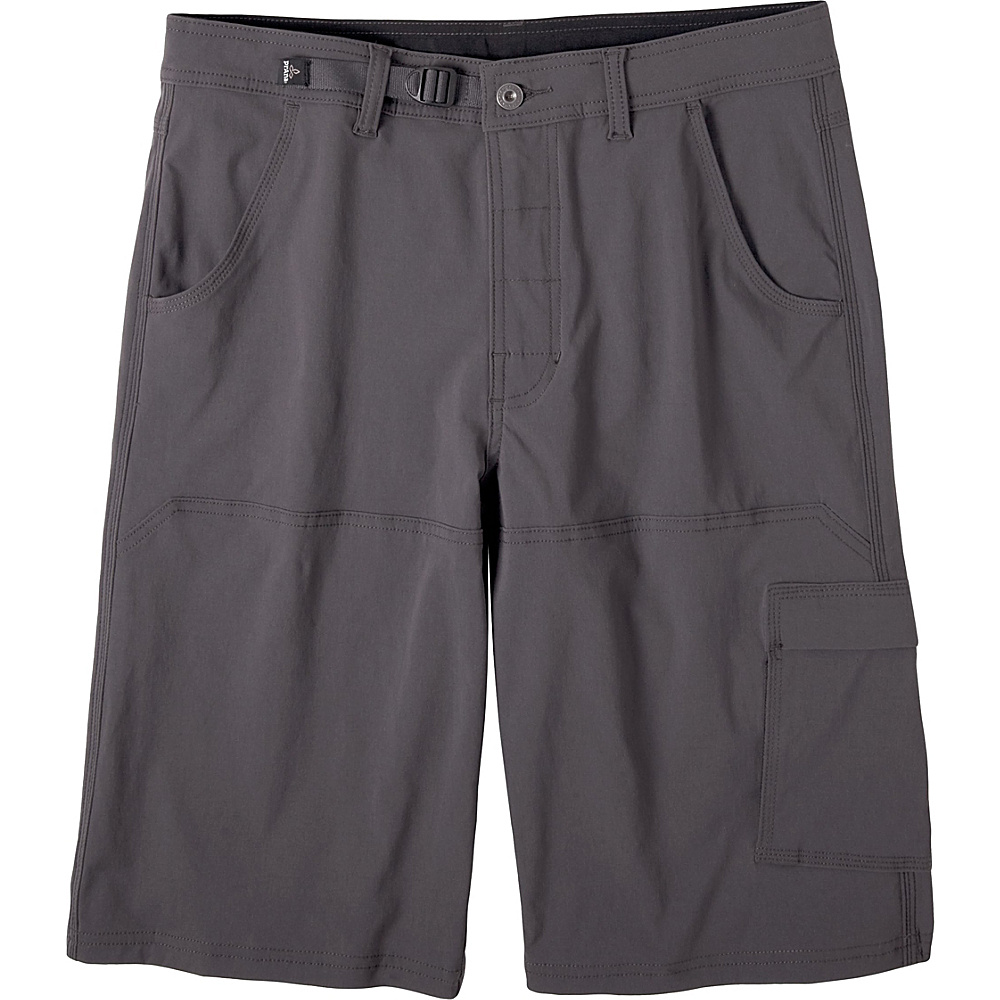 PrAna Stretch Zion Short - 10 Inseam 30 - 10in - Charcoal - PrAna Mens Apparel - Apparel & Footwear, Men's Apparel