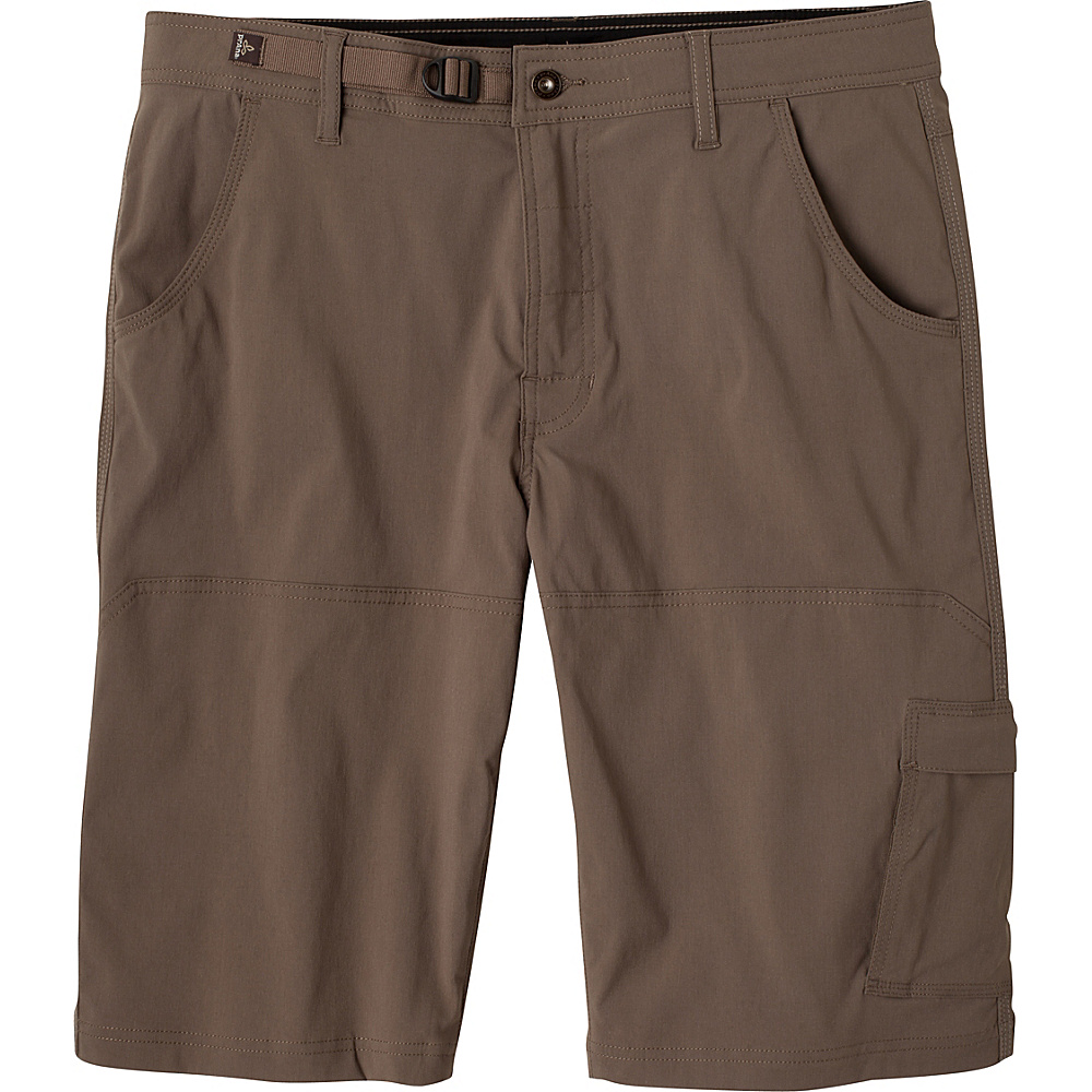 PrAna Stretch Zion Short - 10 Inseam 28 - 10in - Mud - PrAna Mens Apparel - Apparel & Footwear, Men's Apparel