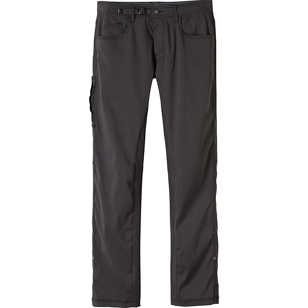 PrAna Zioneer Pant - 30 Inseam 36 - 30in - Charcoal - PrAna Mens Apparel - Apparel & Footwear, Men's Apparel