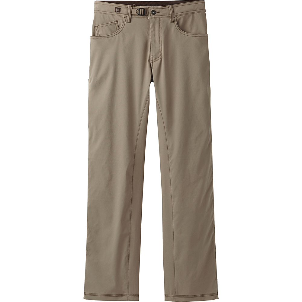 PrAna Zioneer Pant - 30 Inseam 33 - 30in - Dark Khaki - PrAna Mens Apparel - Apparel & Footwear, Men's Apparel