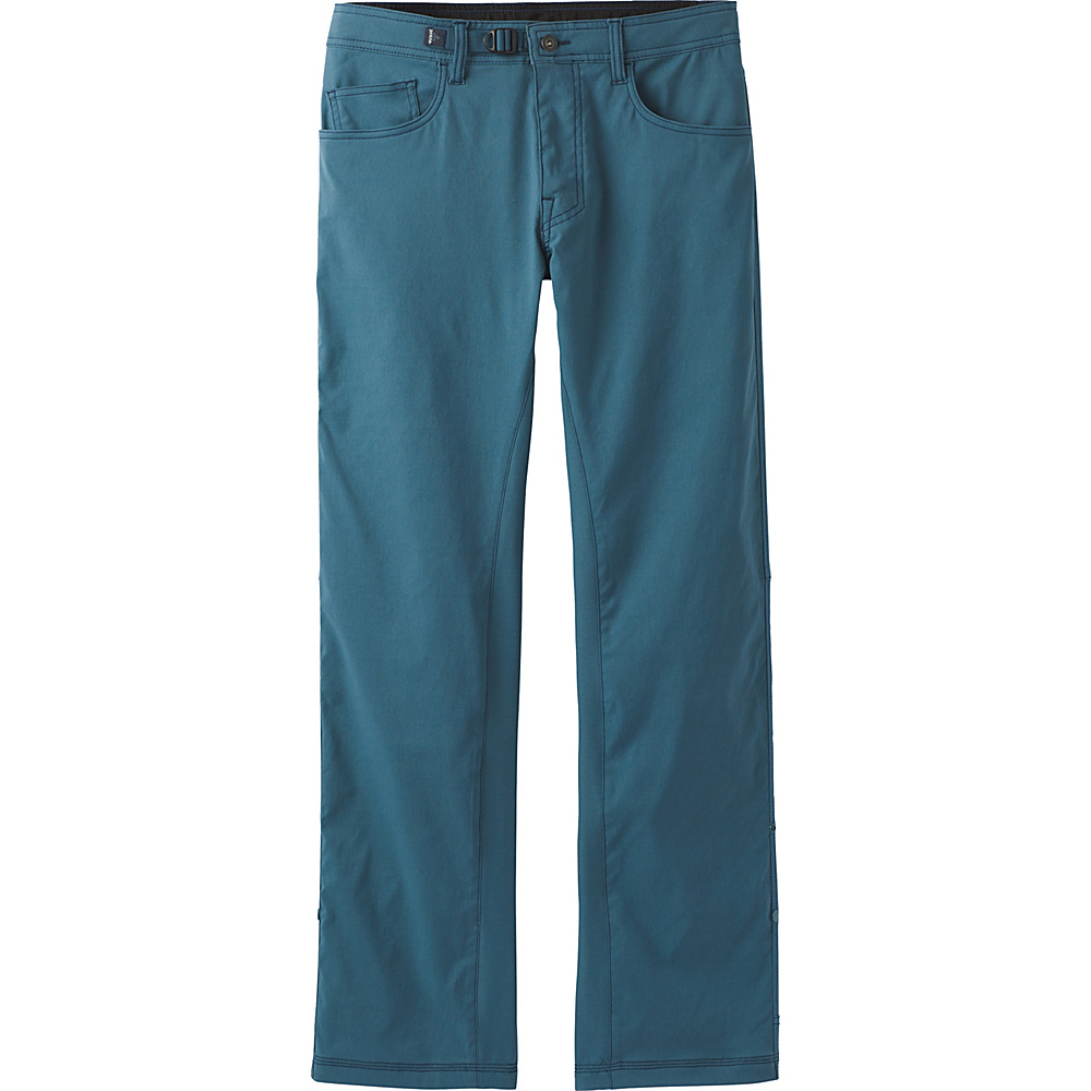 PrAna Zioneer Pant - 30 Inseam 35 - 30in - Mood Indigo - PrAna Mens Apparel - Apparel & Footwear, Men's Apparel