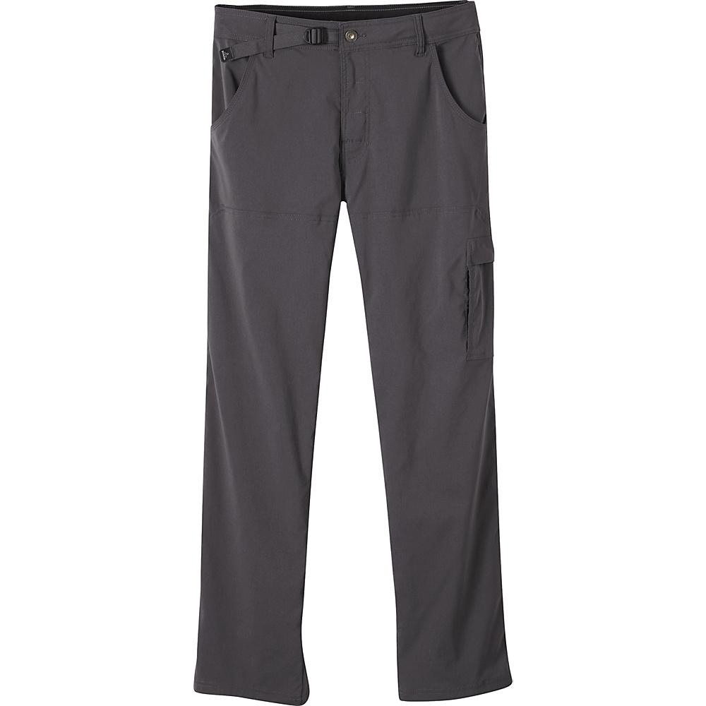 PrAna Stretch Zion Pant - 28 Inseam 31 - 36in - Charcoal - PrAna Mens Apparel - Apparel & Footwear, Men's Apparel