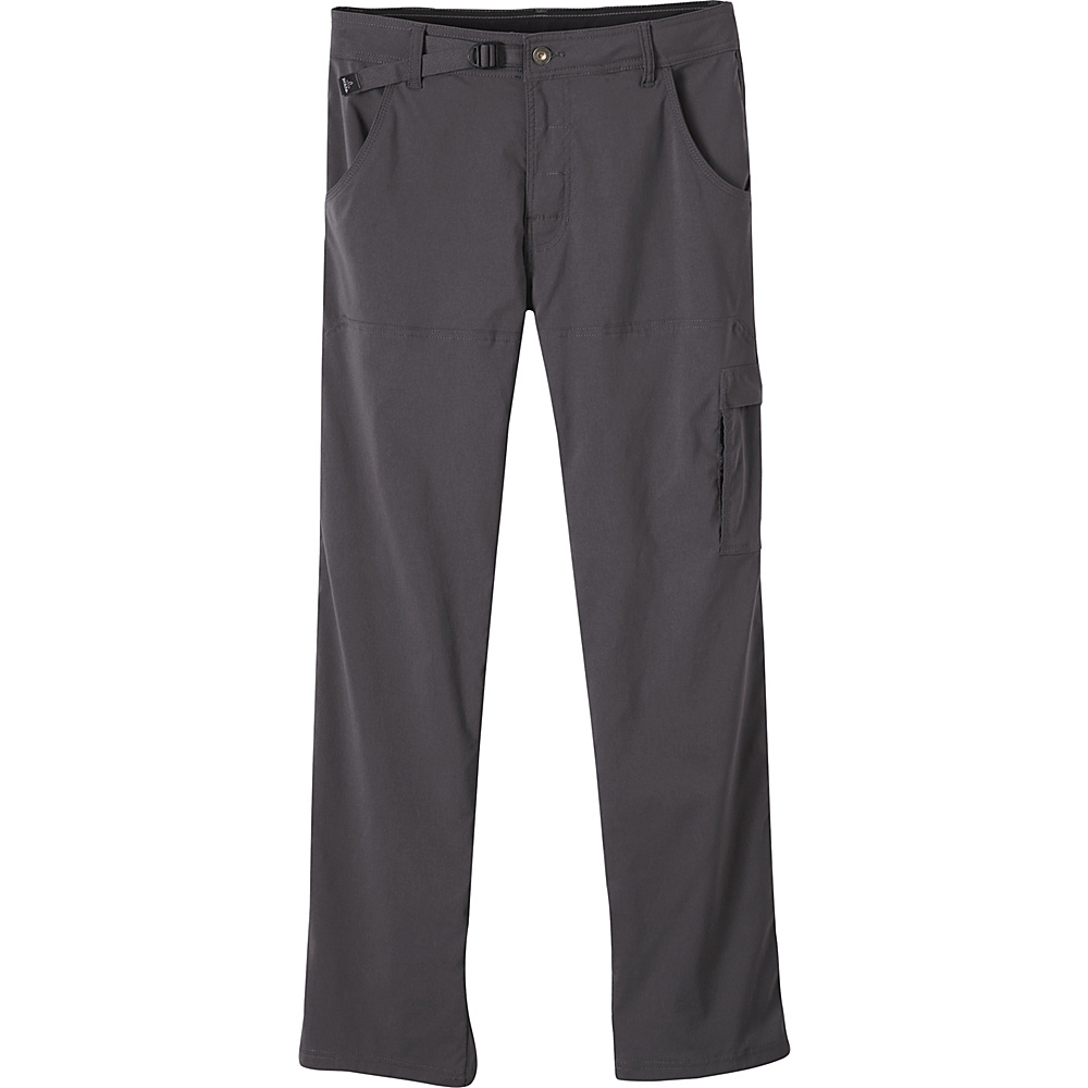 PrAna Stretch Zion Pant - 28 Inseam 36 - 36in - Charcoal - PrAna Mens Apparel - Apparel & Footwear, Men's Apparel