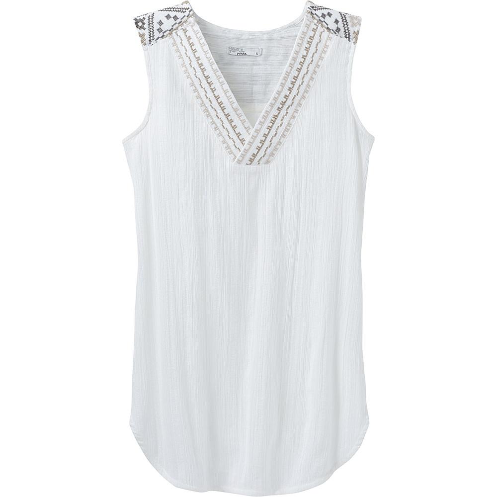 PrAna Heloise Tunic XL - White - PrAna Womens Apparel - Apparel & Footwear, Women's Apparel
