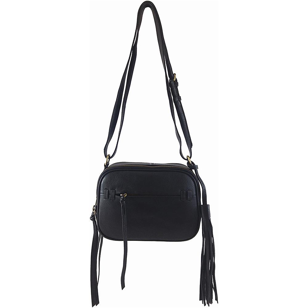 Joelle Hawkens by treesje Candyce Mini Camera Crossbody Black Joelle Hawkens by treesje Leather Handbags