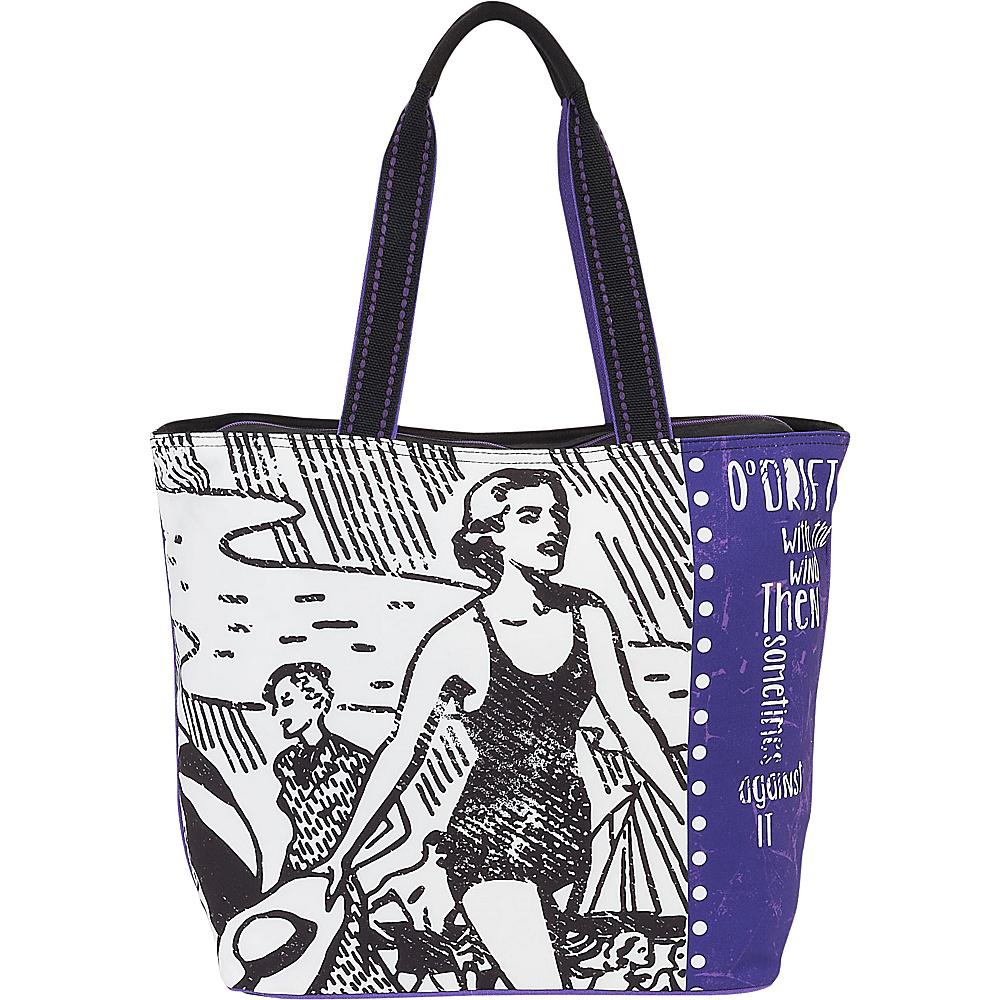 Sun N Sand 0 Drift Tote Retro Drift - Sun N Sand Fabric Handbags - Handbags, Fabric Handbags