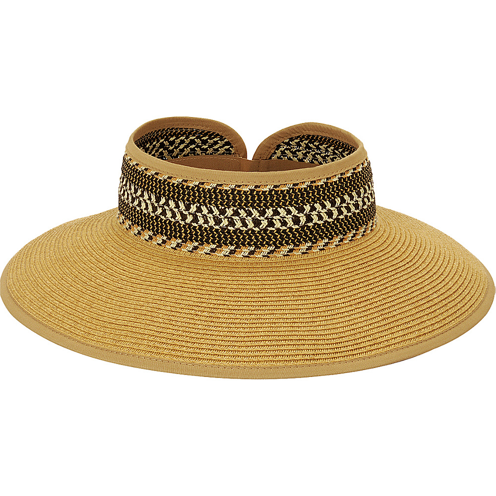 Sun N Sand Roll Up Hat Natural - Sun N Sand Hats/Gloves/Scarves - Fashion Accessories, Hats/Gloves/Scarves