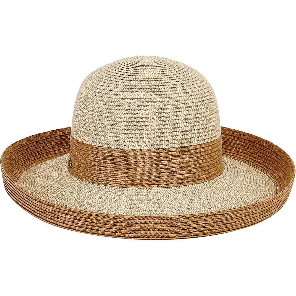 Sun N Sand Paper Braid Hat One Size - Tan - Sun N Sand Hats - Fashion Accessories, Hats