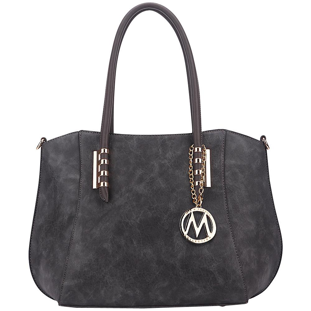 MKF Collection by Mia K. Farrow Kakapo Tote Dark Grey - MKF Collection by Mia K. Farrow Manmade Handbags - Handbags, Manmade Handbags