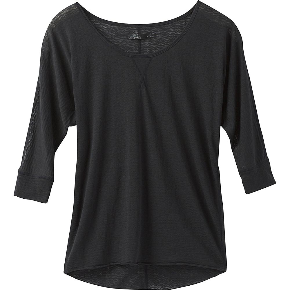 PrAna Tranquil Top M - Black - PrAna Womens Apparel - Apparel & Footwear, Women's Apparel