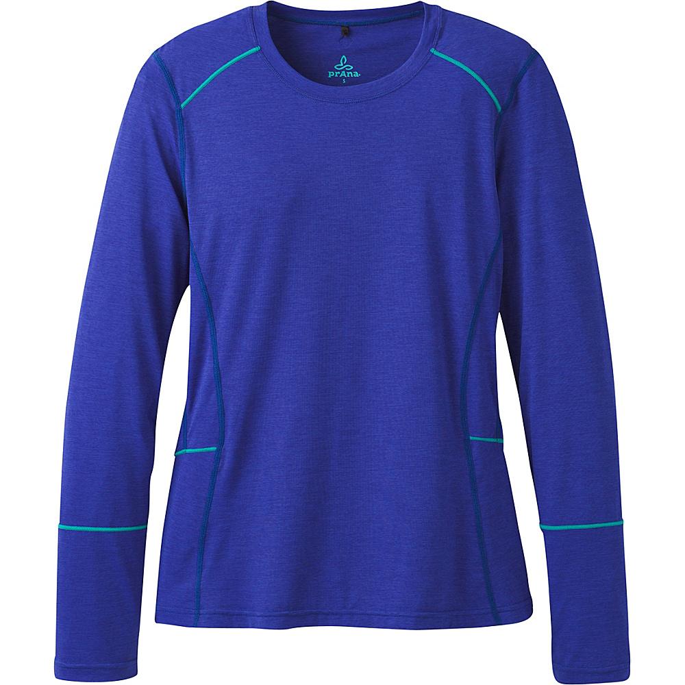 PrAna Eileen Sun Top L - Cobalt - PrAna Womens Apparel - Apparel & Footwear, Women's Apparel