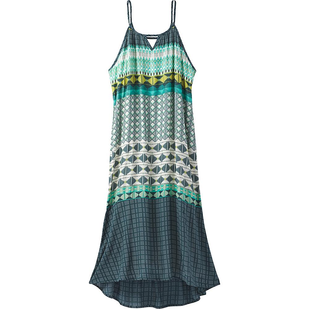 PrAna Nari Dress S - Emerald - PrAna Womens Apparel - Apparel & Footwear, Women's Apparel