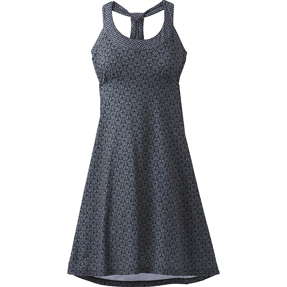 PrAna Cali Dress S - Charcoal Botanica - PrAna Womens Apparel - Apparel & Footwear, Women's Apparel