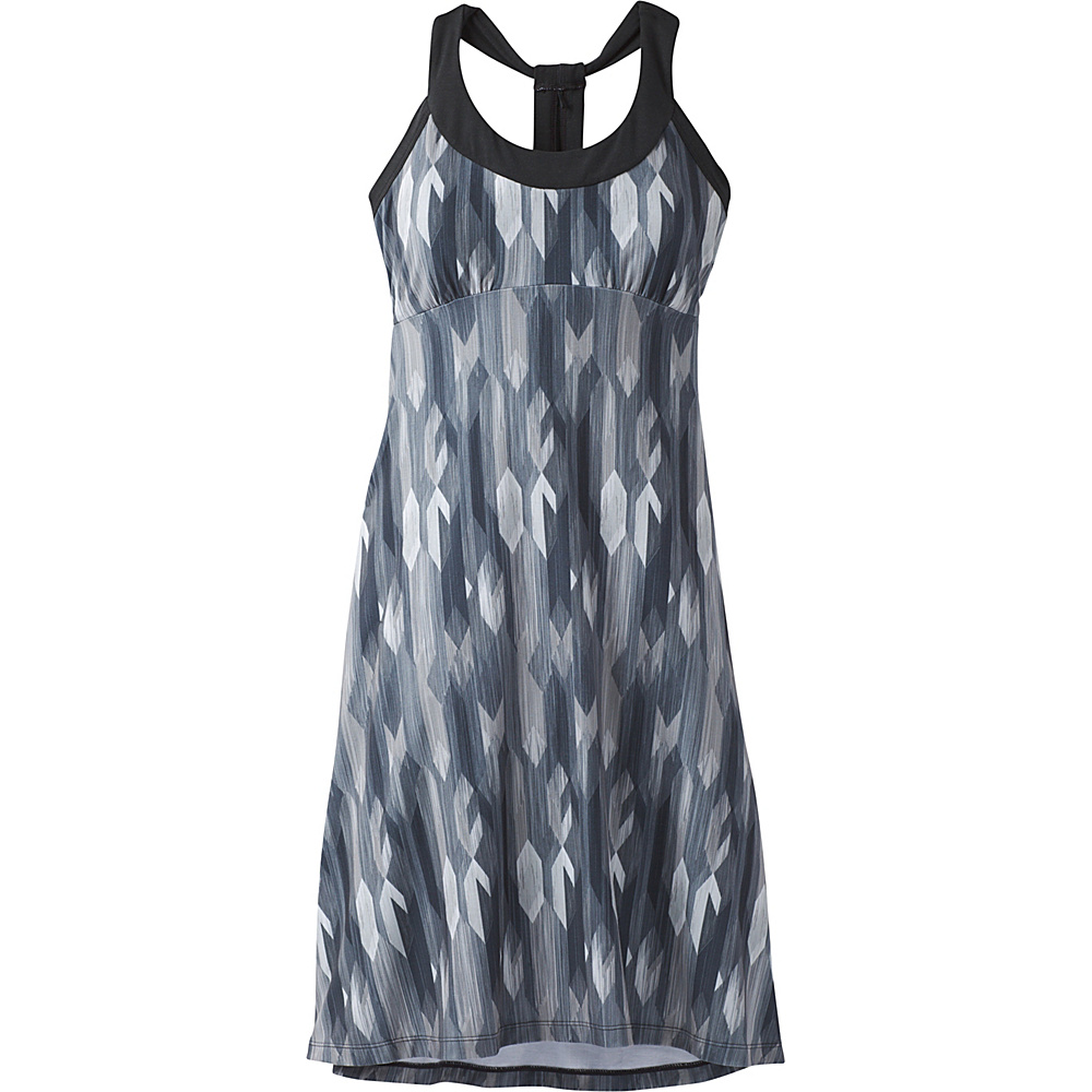 PrAna Cali Dress XS - Charcoal Gemstone - PrAna Womens Apparel - Apparel & Footwear, Women's Apparel