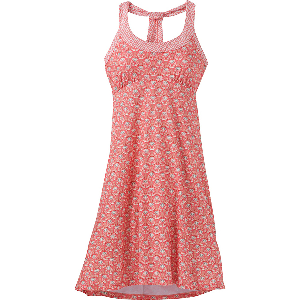 PrAna Cali Dress XS - Summer Peach Botanica - PrAna Womens Apparel - Apparel & Footwear, Women's Apparel