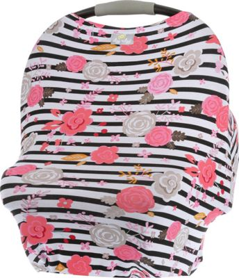 Itzy Ritzy Mom Boss Multi Use Infant Cover Floral Stripe - Itzy Ritzy Diaper Bags & Accessories