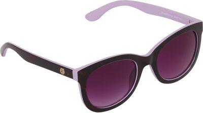 Jessica Simpson Sunwear Plastic Cat Eye Sunglasses Tortoise / Lilac - Jessica Simpson Sunwear Eyewear