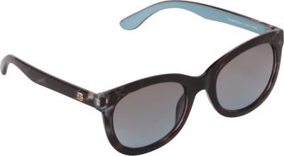 Jessica Simpson Sunwear Plastic Cat Eye Sunglasses Animal / Aqua - Jessica Simpson Sunwear Eyewear