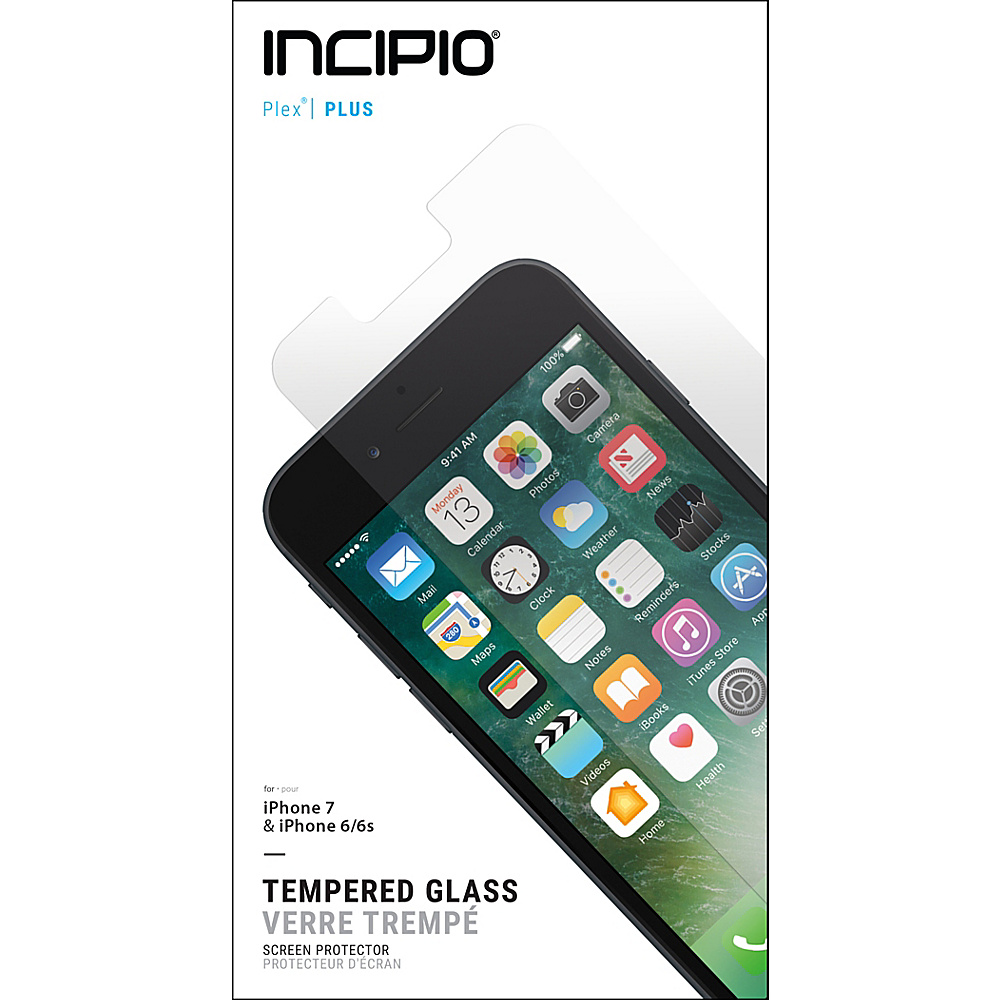 Incipio PLEX Plus Shield for iPhone 7 Clear - Incipio Electronic Cases - Technology, Electronic Cases