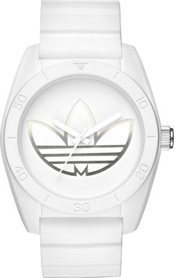 adidas watches adidas watches Santiago Three-Hand Watch White - adidas watches Watches