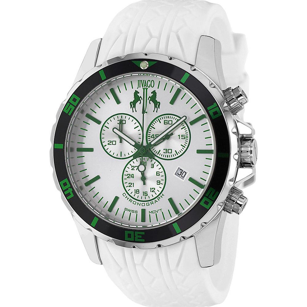 Jivago Watches Men s Ultimate Watch White Jivago Watches Watches