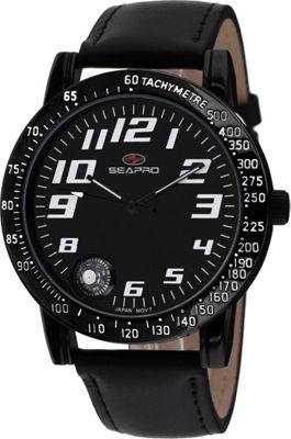 Seapro Watches Men's Raceway Watch Black - Seapro Watches Watches