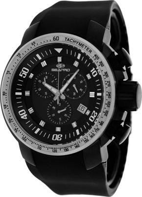 Seapro Watches Men's Imperial Watch Black - Seapro Watches Watches