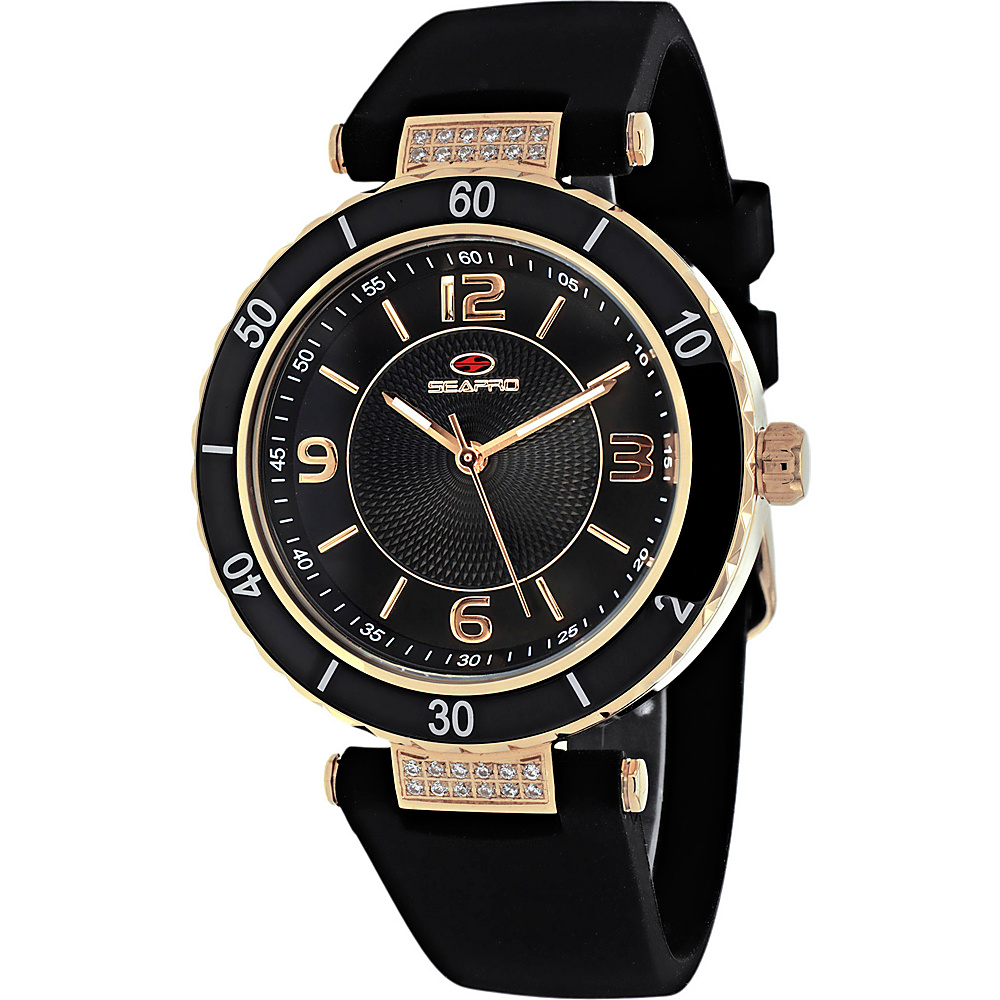 Seapro Watches Women s Seductive Watch Black Seapro Watches Watches