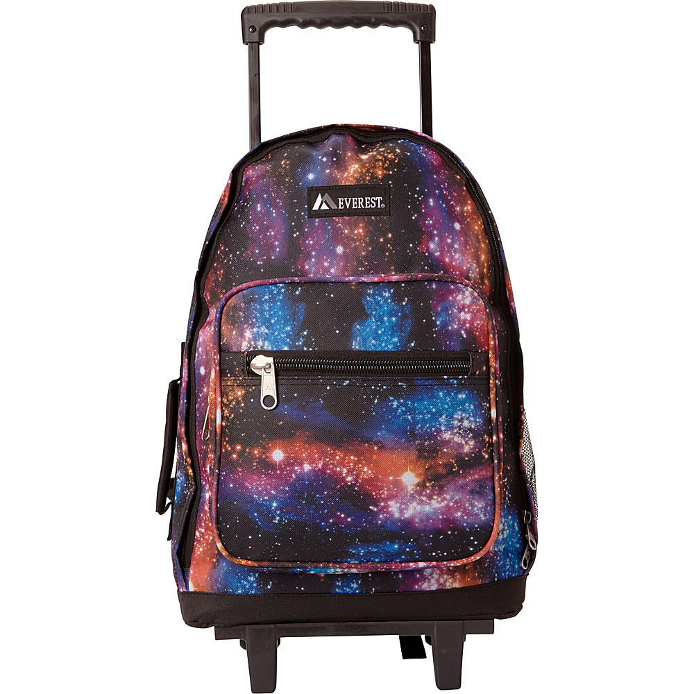 Everest Wheeled Pattern Backpack Galaxy - Everest Wheeled Backpacks - Backpacks, Wheeled Backpacks