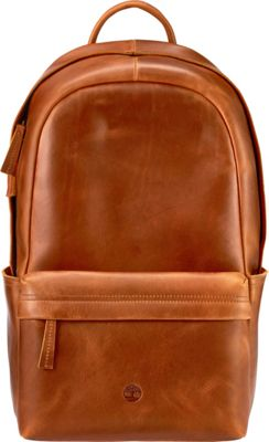 Timberland Wallets Tuckerman Leather Backpack Cognac - Timberland Wallets Laptop Backpacks