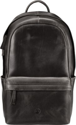 Timberland Wallets Tuckerman Leather Backpack Black - Timberland Wallets Laptop Backpacks