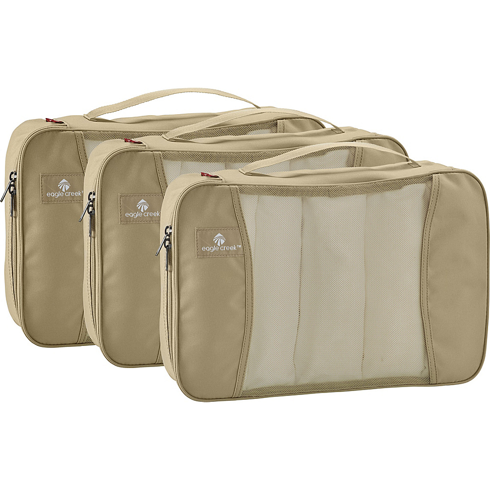 Eagle Creek Pack-It Original Full Cube Set Tan - Eagle Creek Lightweight Packable Expandable Bags - Travel Accessories, Lightweight Packable Expandable Bags