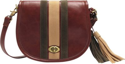 Like Dreams Jessica Crossbody Brown - Like Dreams Manmade Handbags