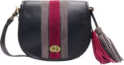 Like Dreams Jessica Crossbody Black - Like Dreams Manmade Handbags
