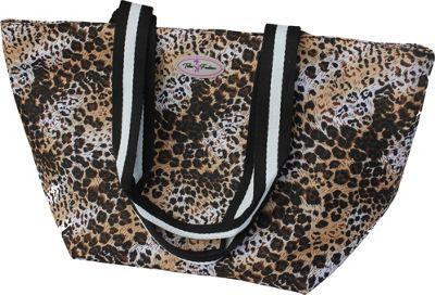 Taboo Fashions Fantasy Tote Bag Safari - Taboo Fashions Fabric Handbags