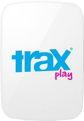 Trax Play GPS Tracker for Kids & Dogs White/Blue - Trax Trackers & Locators