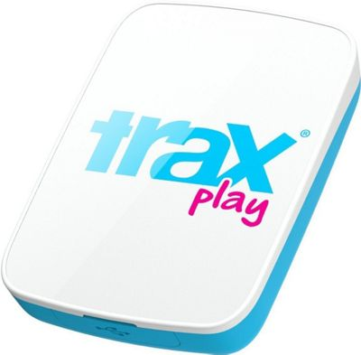 Trax Play GPS Tracker for Kids & Dogs White/Pink - Trax Trackers & Locators