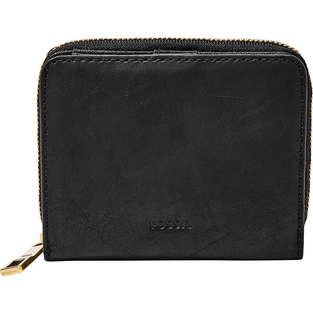 Fossil Emma RFID Mini Multifunction Black - Fossil Designer Handbags - Handbags, Designer Handbags
