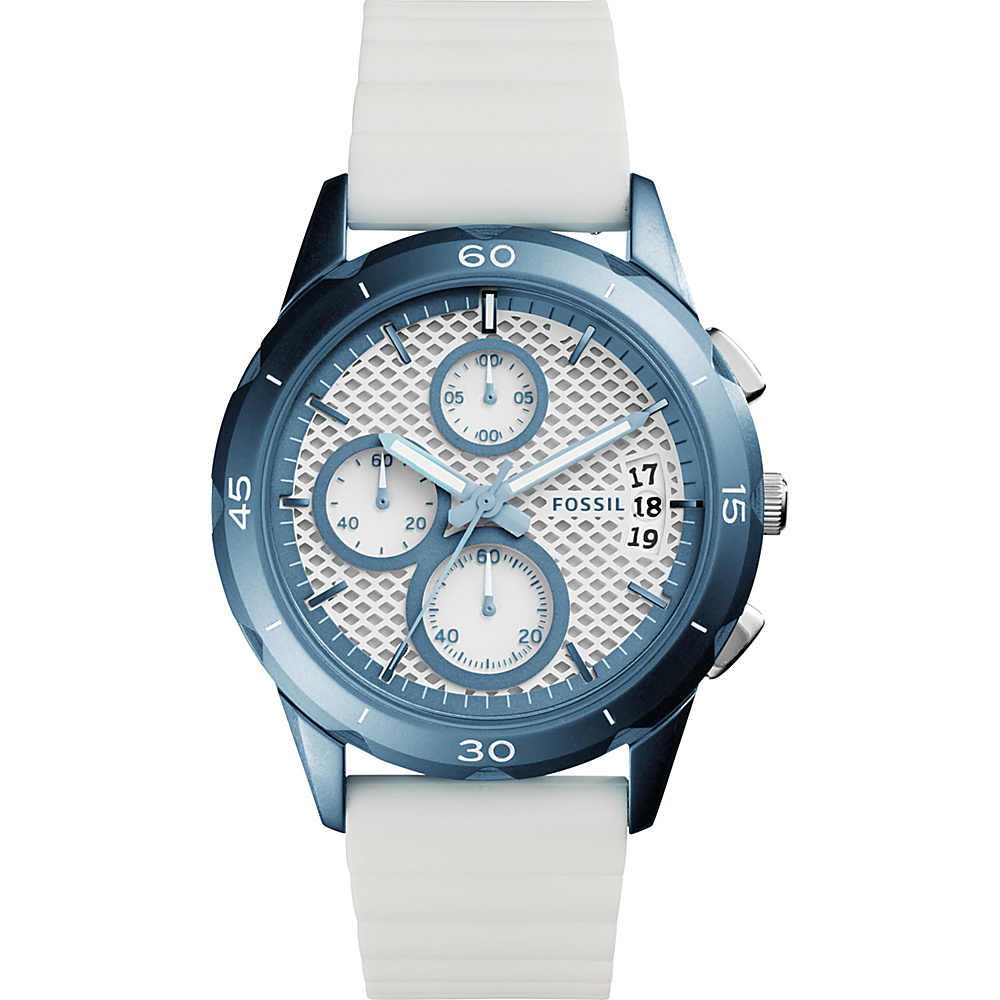 Fossil Modern Pursuit Sport Chronograph Watch White - Fossil Watches - Fashion Accessories, Watches