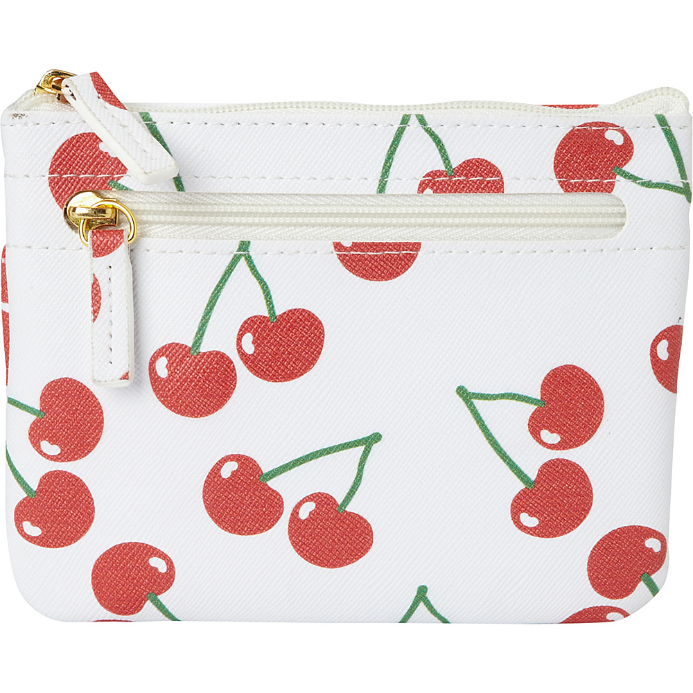 Buxton Fruit Punch Pik-Me-Up Large I.D. Coin / Card Case Snow White - Buxton Womens Wallets - Women's SLG, Women's Wallets