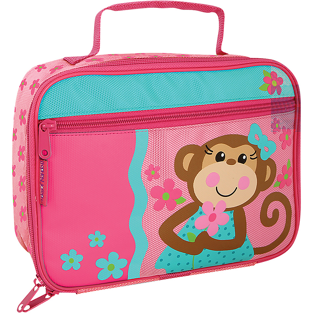 Stephen Joseph Lunchbox Monkey - Girl - Stephen Joseph Travel Coolers - Travel Accessories, Travel Coolers